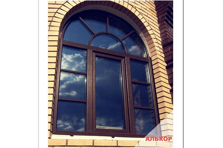 пластиковые окна в кирпичный дом